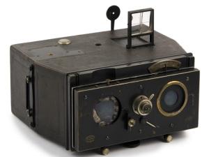 macchina fotografica stereoscopica del periodo